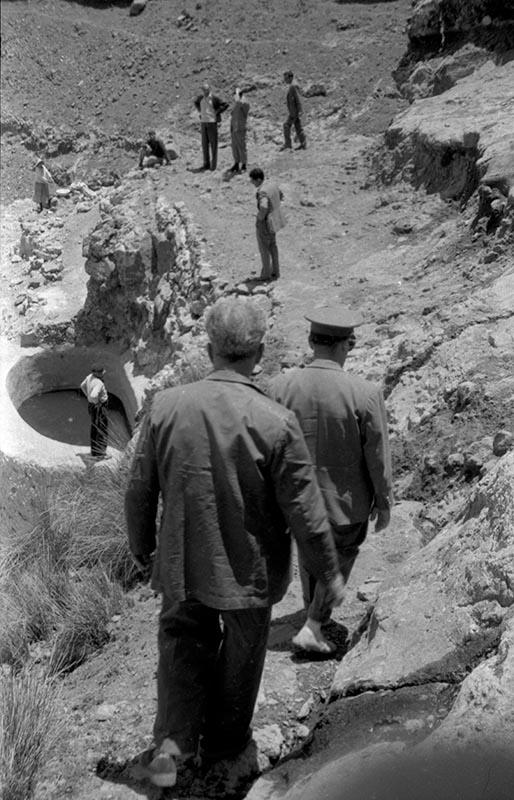 Canalización de agua en la Fuente de las Ovejas IV