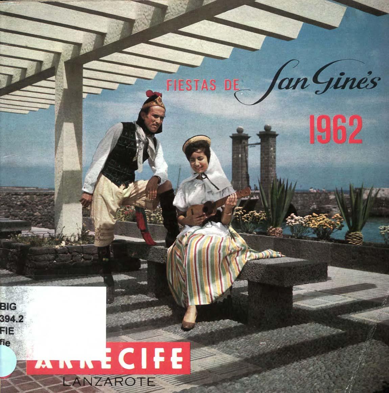 Programa de las fiestas de San Ginés de 1962