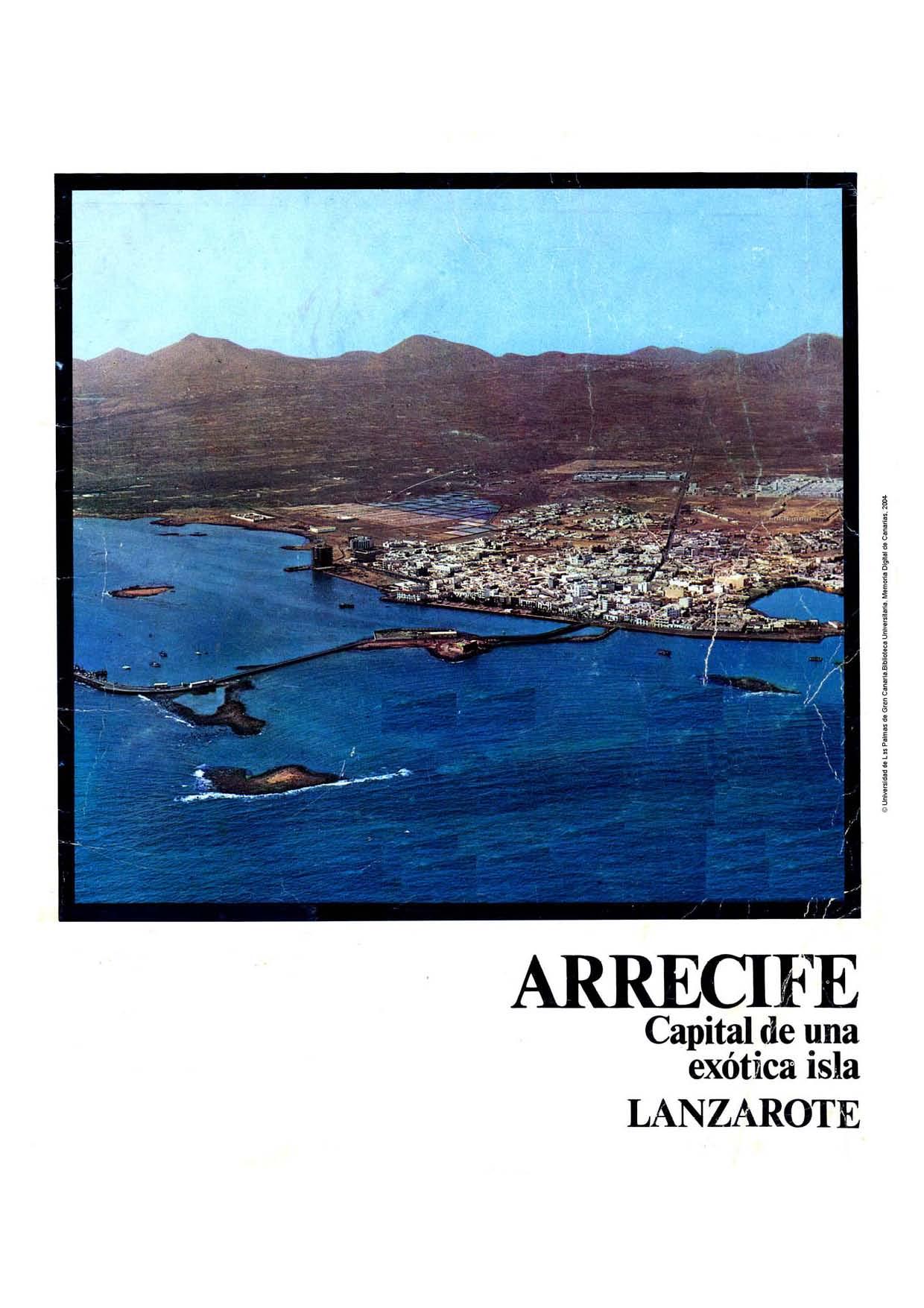 Arrecife, capital de una exótica isla (Fiestas de San Ginés 1970)