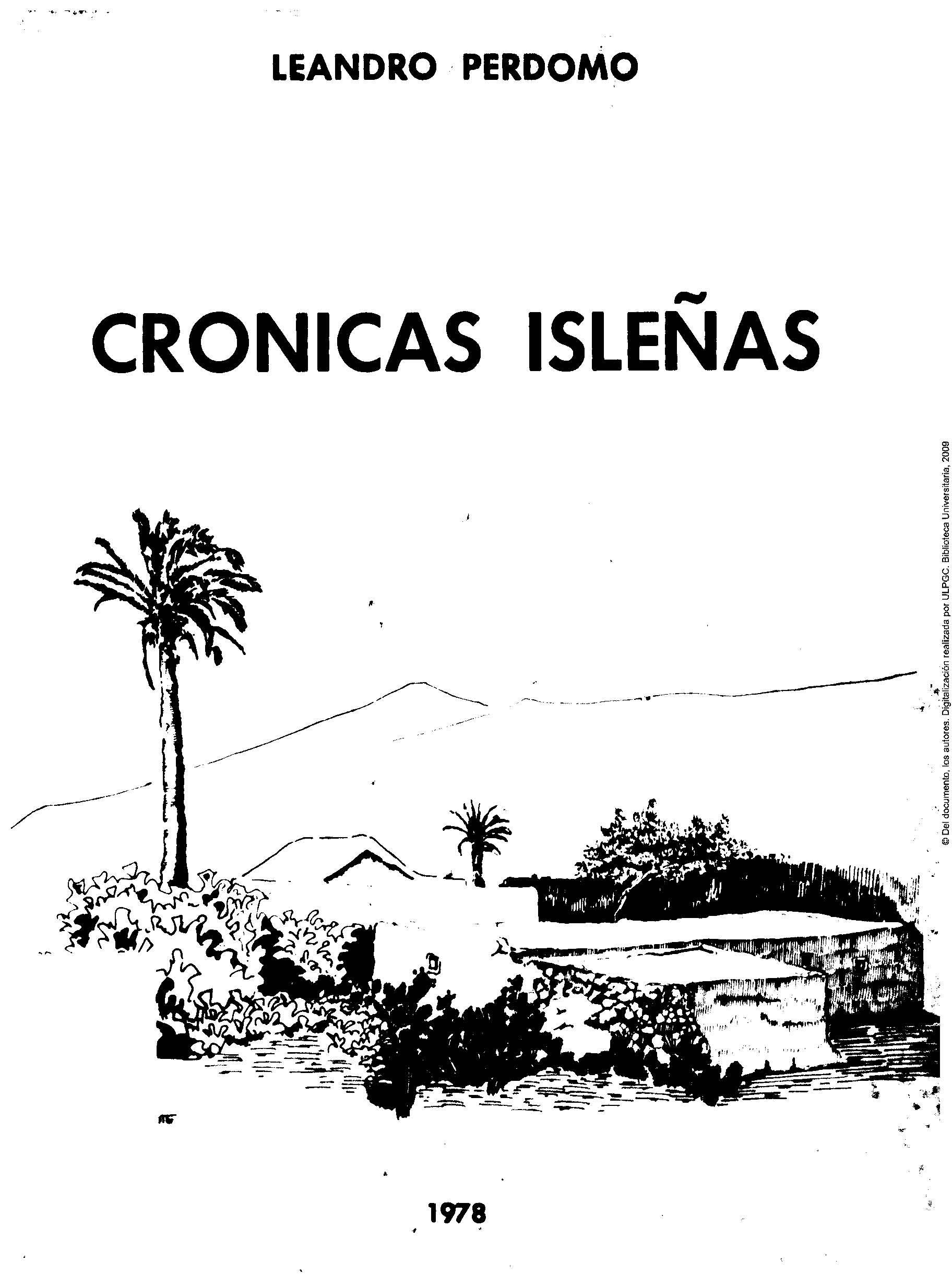 Crónicas isleñas (1976-1977)
