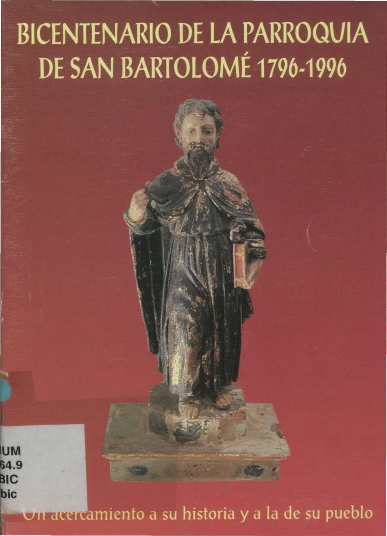 Bicentenario de la parroquia de San Bartolomé 1796-1996