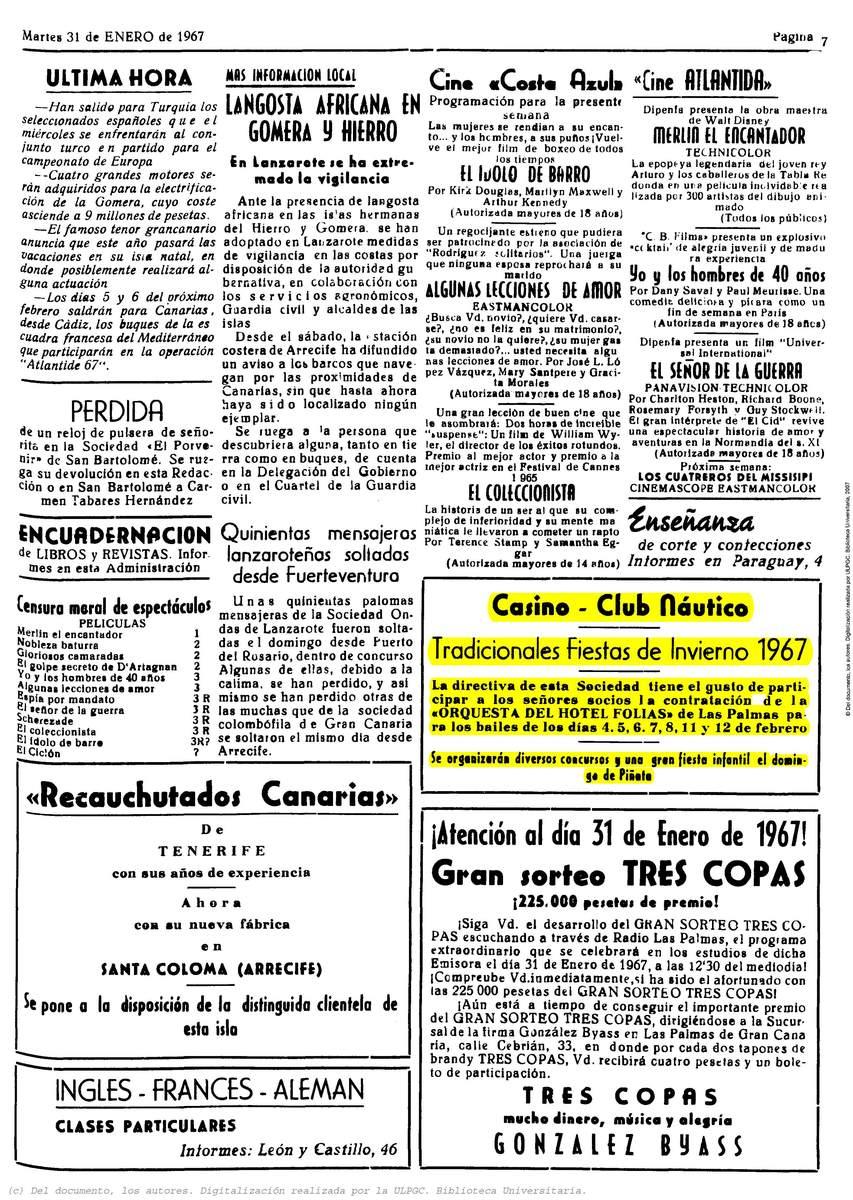 Fiestas de Invierno en el Casino Club Náutico