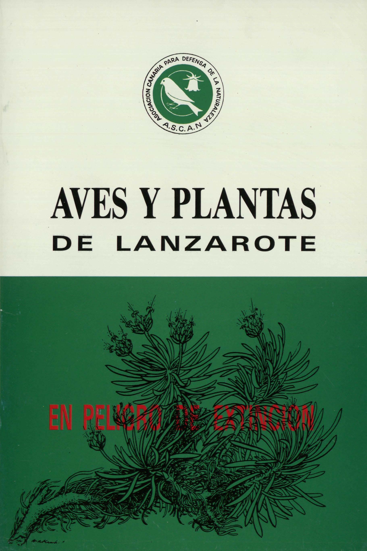 Aves y plantas de Lanzarote en peligro de extinción