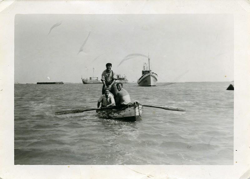 Chalana en Cabo Blanco