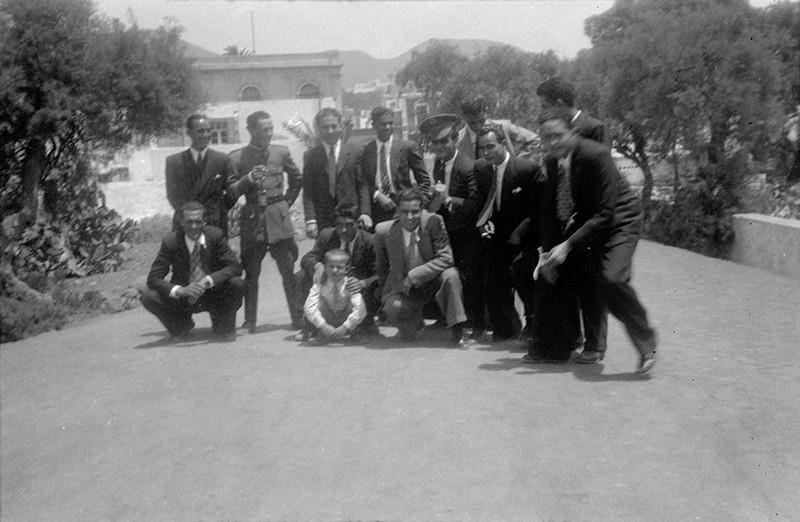Grupo de jóvenes en Haría I