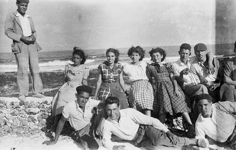 Amigos en Punta Mujeres