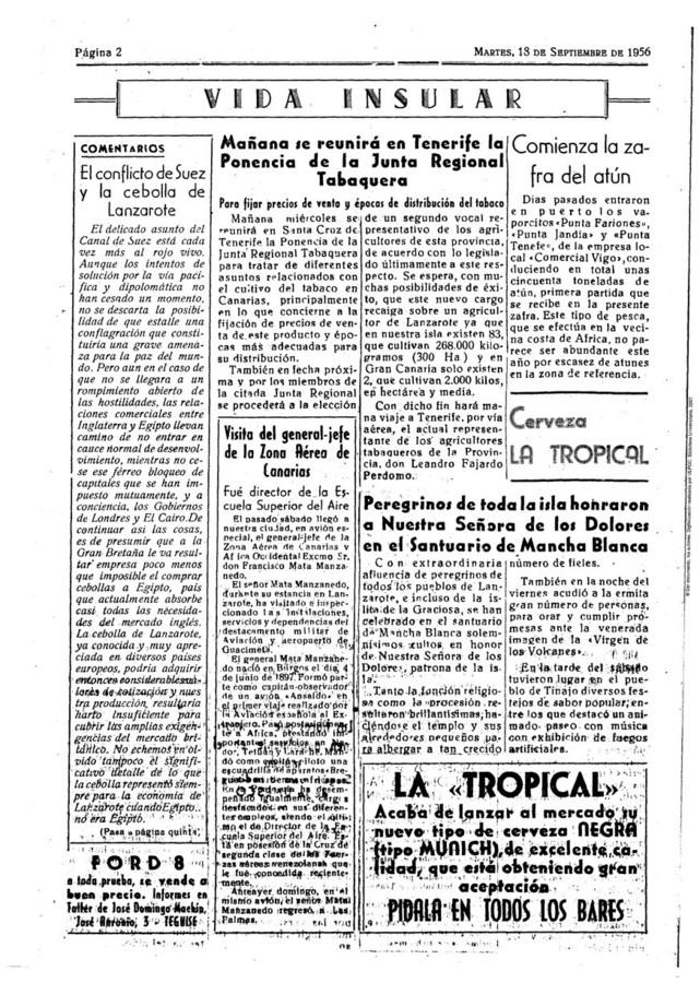 Romería de Los Dolores 1956