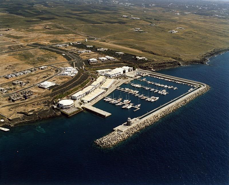 Fotografía aérea de Puerto Calero III