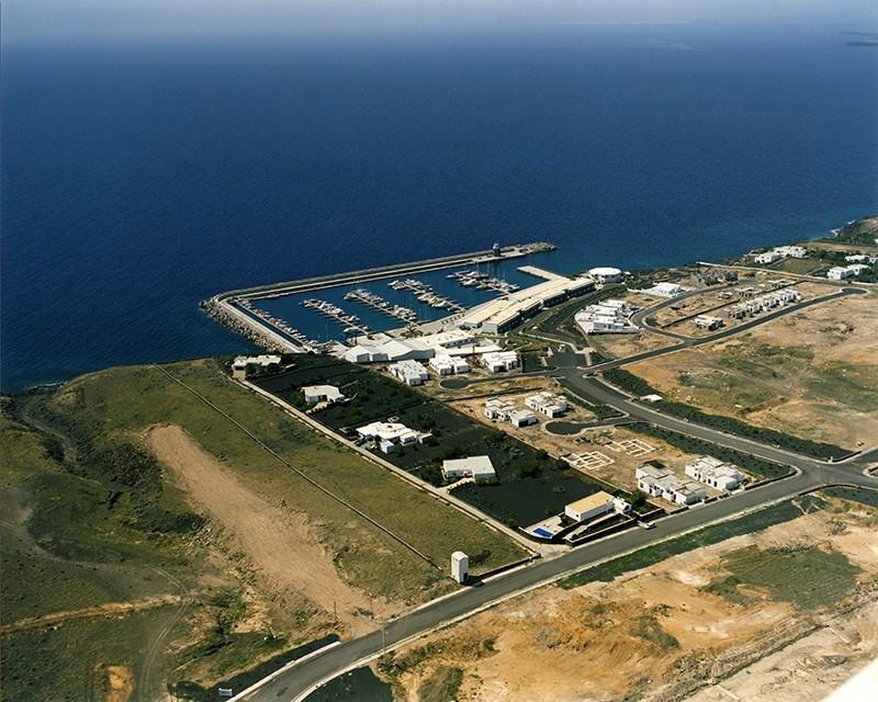 Fotografía aérea de Puerto Calero IV