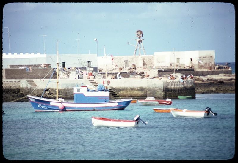 Barcos en La Graciosa II