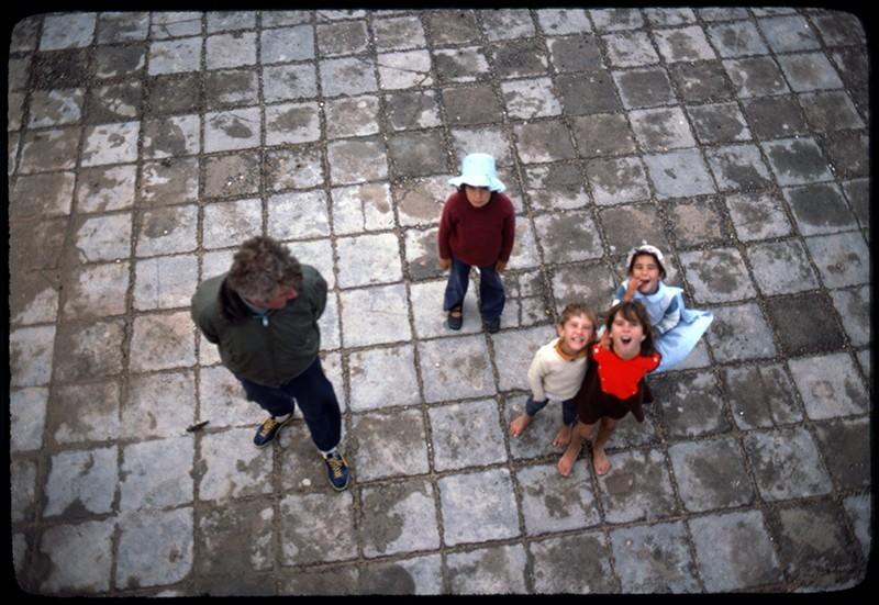 Niños en Caleta del Sebo I