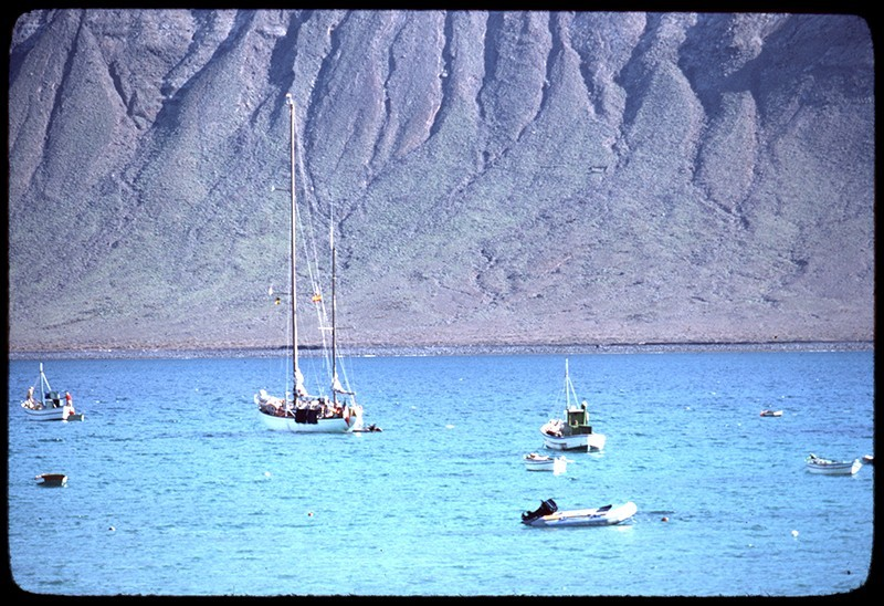 Barcos en La Graciosa VIII