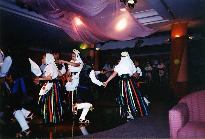Grupo infantil de la Agrupación San Antonio II