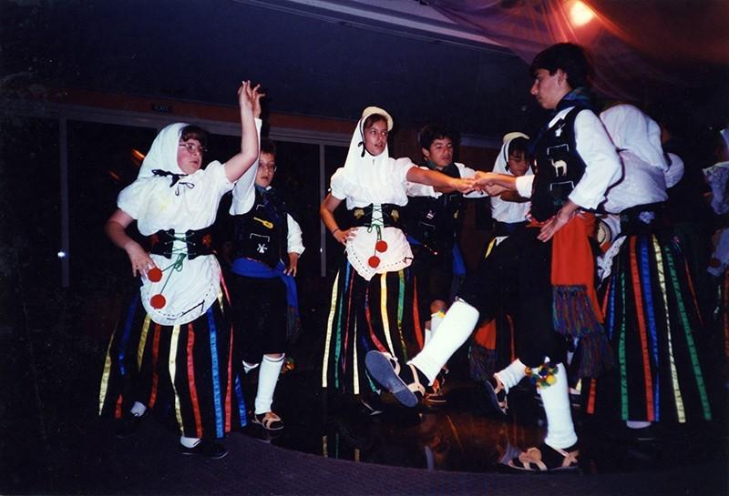 Grupo infantil de la Agrupación San Antonio III