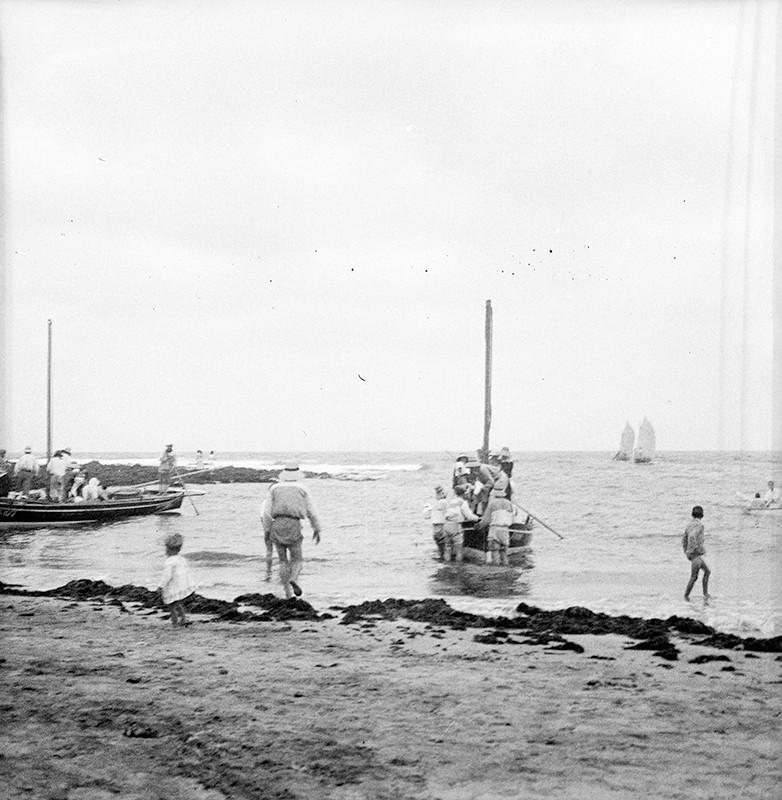 Desembarcando en La Caleta