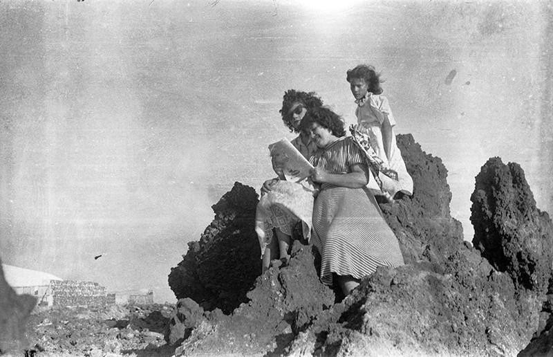 Jóvenes en Punta Mujeres