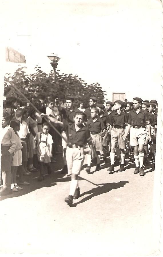 Desfile del Frente de Juventudes