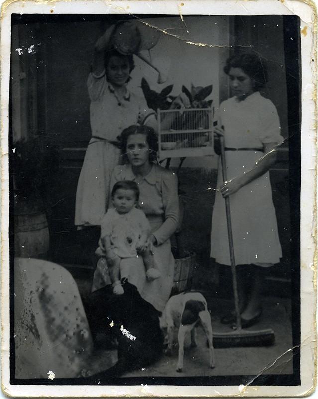 Familia lanzaroteña
