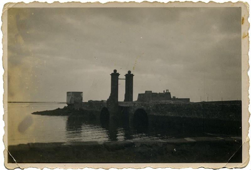 Castillo de San Gabriel con parapetos y garita II