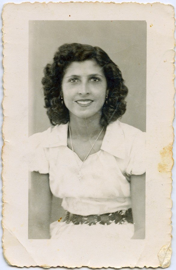 Retrato de Olimpia Delgado II