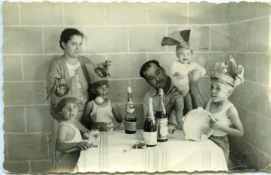 Familia de Fefo Rodríguez I