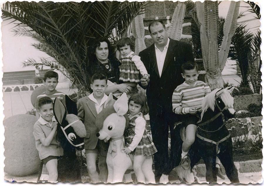 Familia de Fefo Rodríguez II