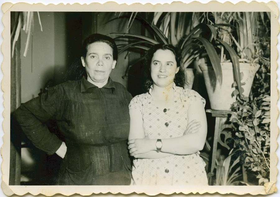 Matilde Cabrera y Remedios Pérez