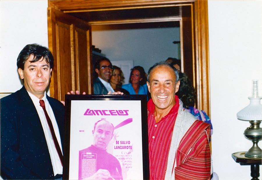 Antonio Coll y César Manrique