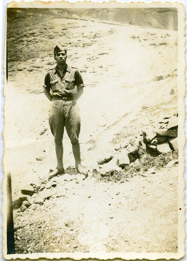 Durante el servicio militar