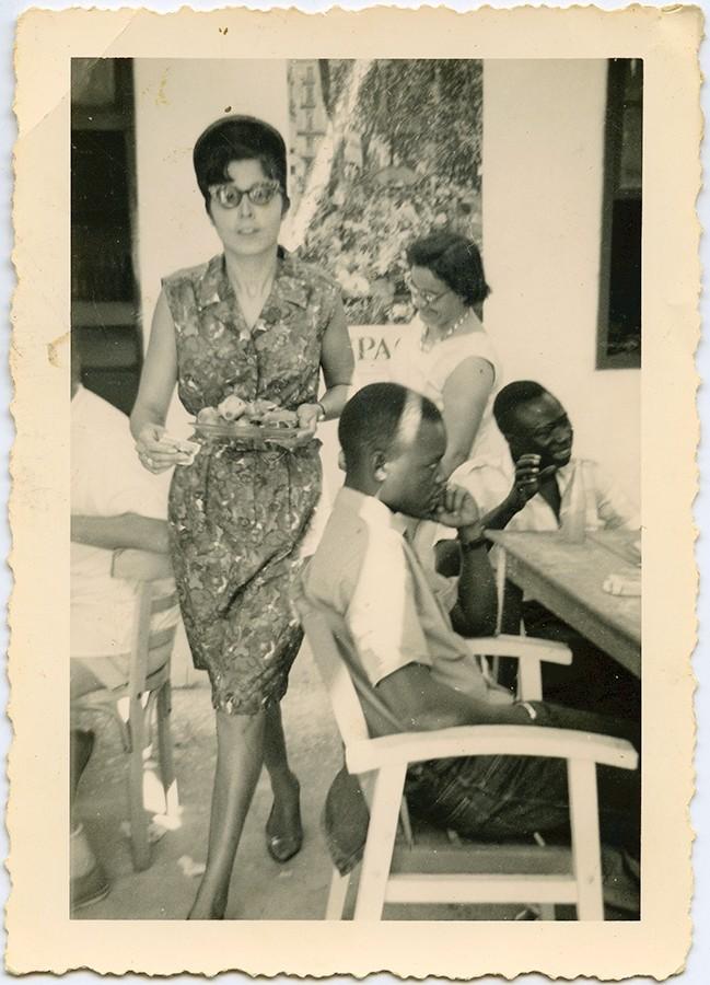 Olimpia Delgado en Port Étienne