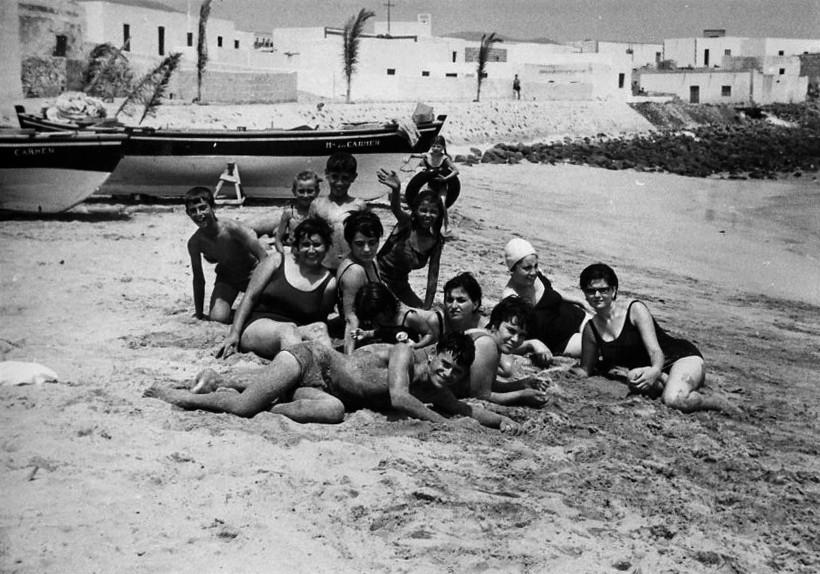 Amigos en Playa Blanca I