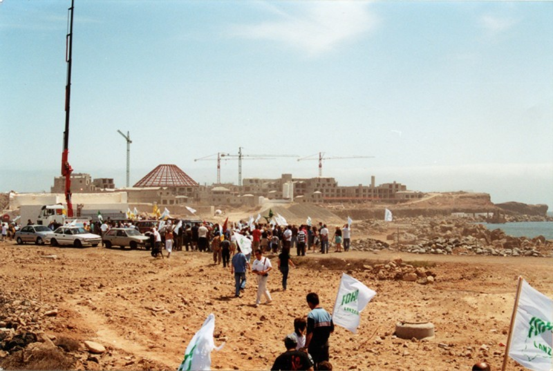 Protestas en Berrugo I
