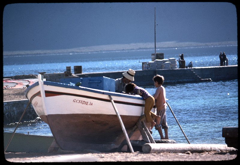 Barco varado II