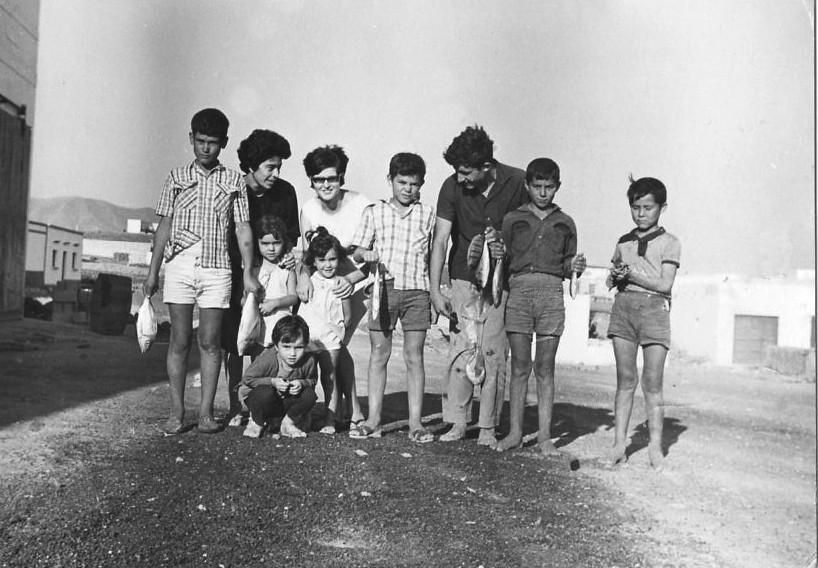 Amigos en Playa Blanca II