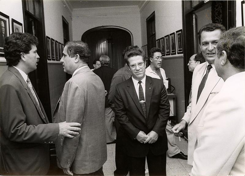 Políticos en el Cabildo