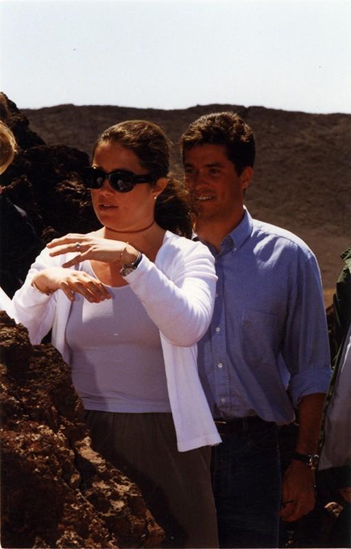 Carlos Morales y Alexia de Grecia II