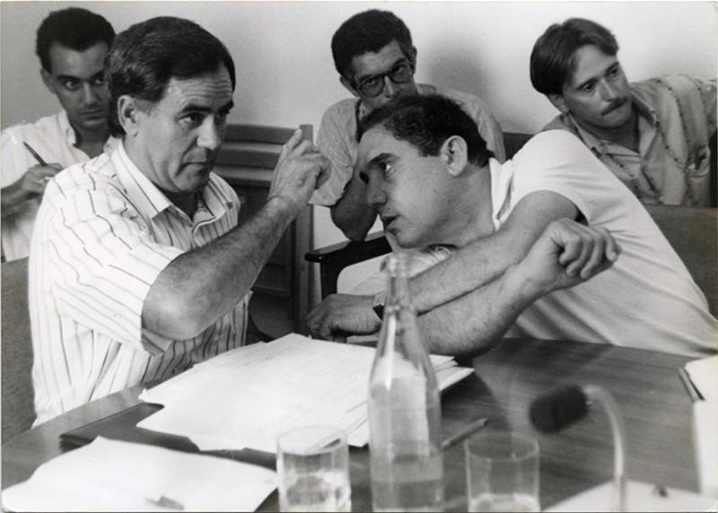 Honorio García Bravo y Dimas Martín