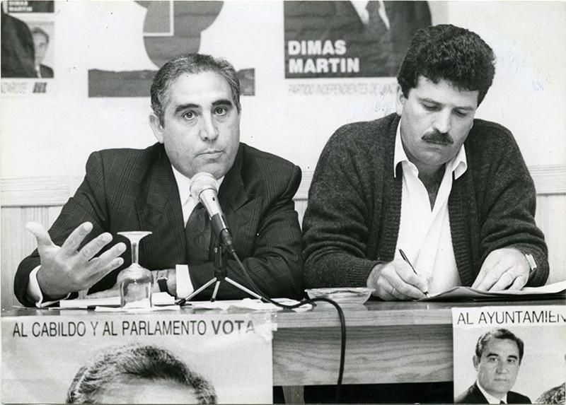 Dimas Martín y Juan Pedro Hernández