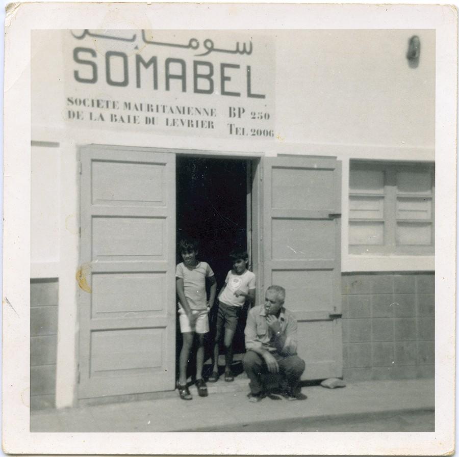 """En la oficina de """"Somabel"""""""