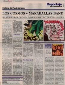 "Reportaje sobre ""Maraballas Band"""