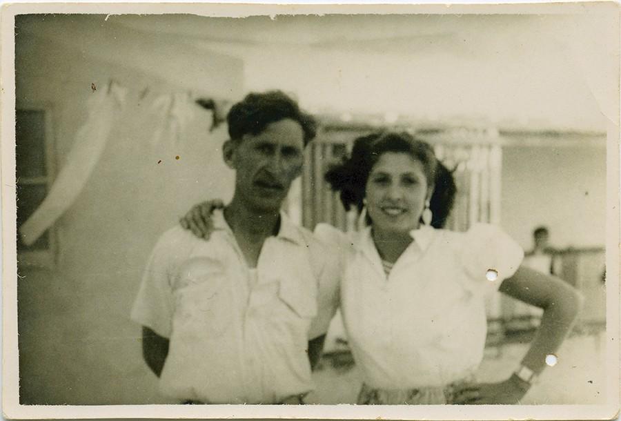 Manuel Betancort y Olimpia Delgado III