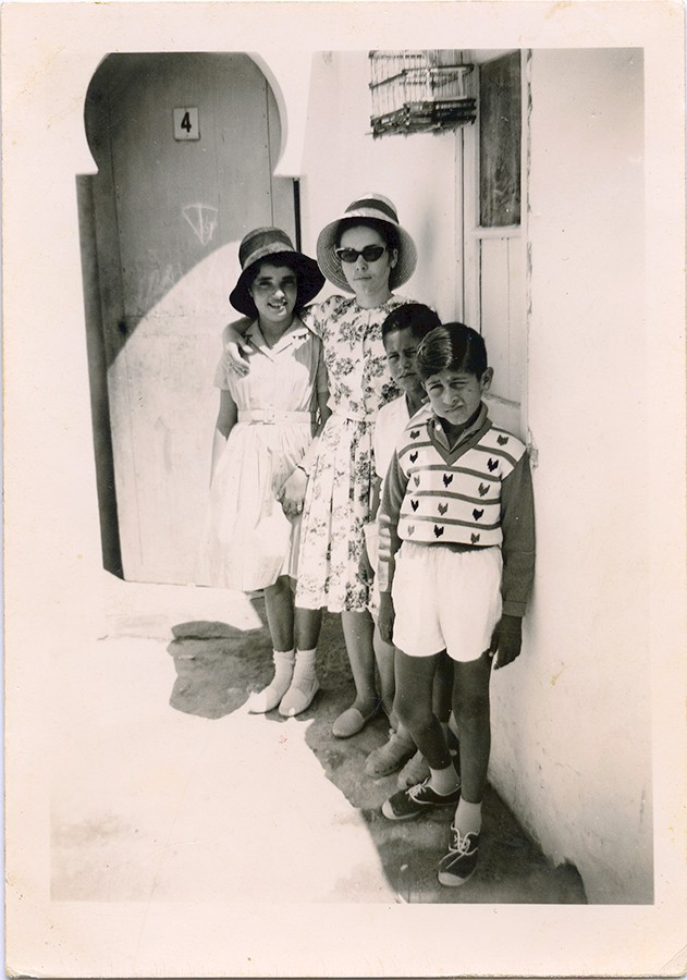 Amigos en Port Etiene