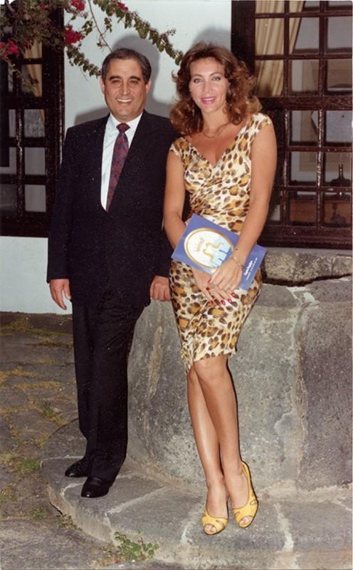 Dimas Martín y Norma Duval