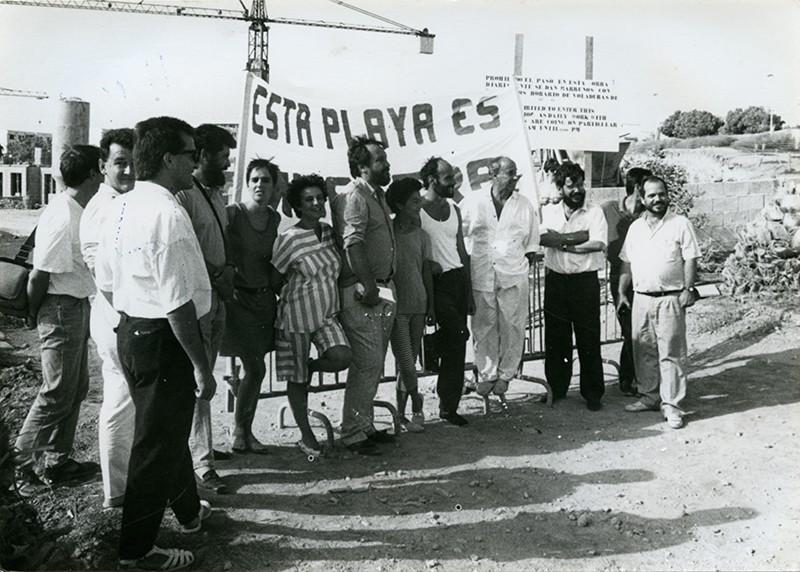 Protestas en Los Pocillos III