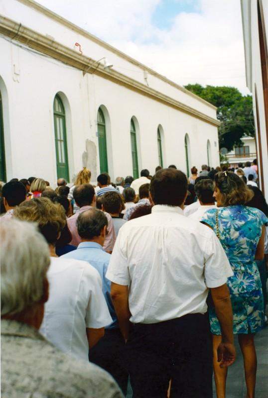 Cortejo fúnebre de César Manrique V