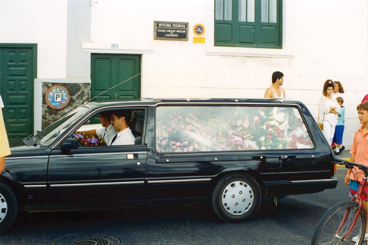 Cortejo fúnebre de César Manrique XI