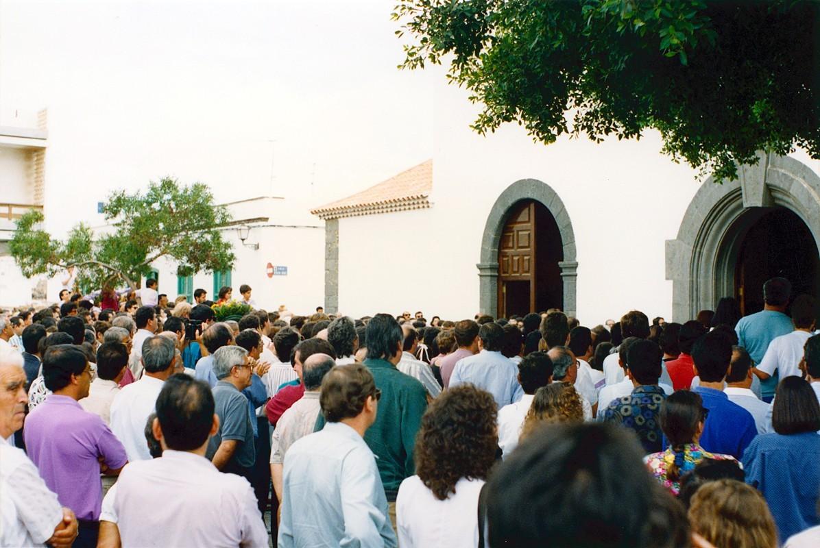 Cortejo fúnebre de César Manrique XIV