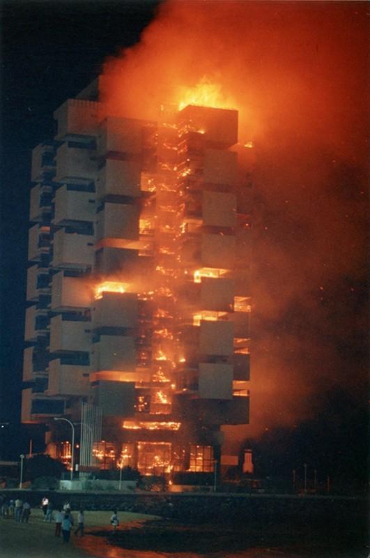 Incendio del Gran Hotel V