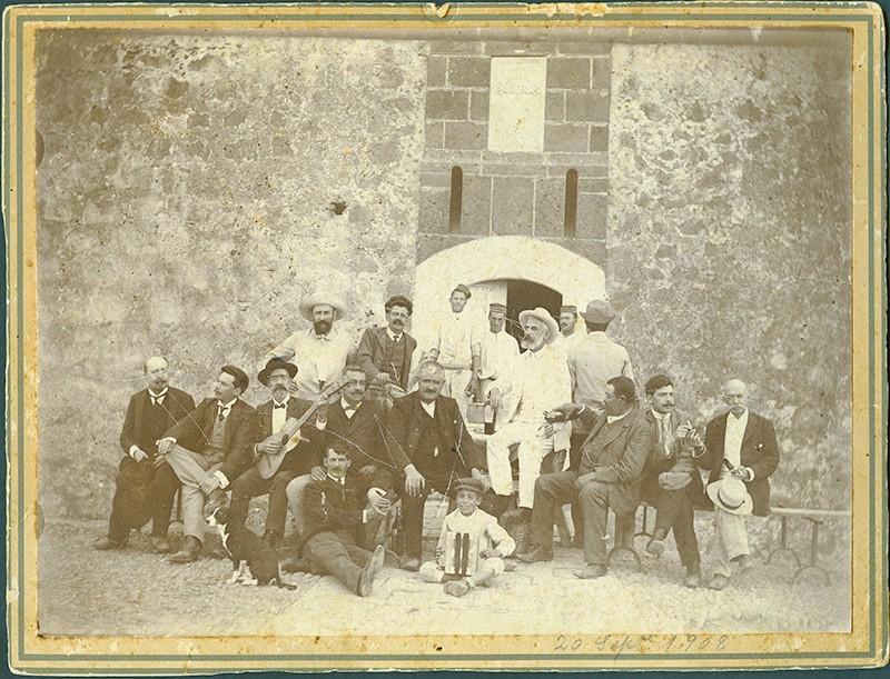 Amigos en el Castillo de San José