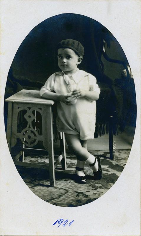 César Manrique de niño I